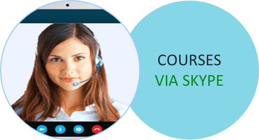 ITALIAN courses VIA SKYPE