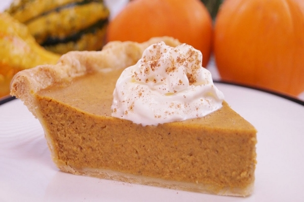 Italian Cooking: enjoy this homemade Pumpkin Pie year-round, not only for Halloween!